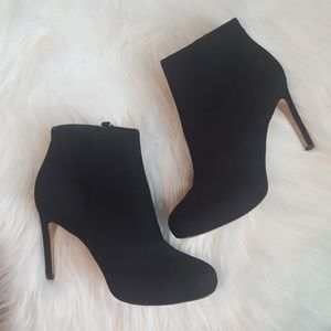 Via Spiga Bettie suede booties